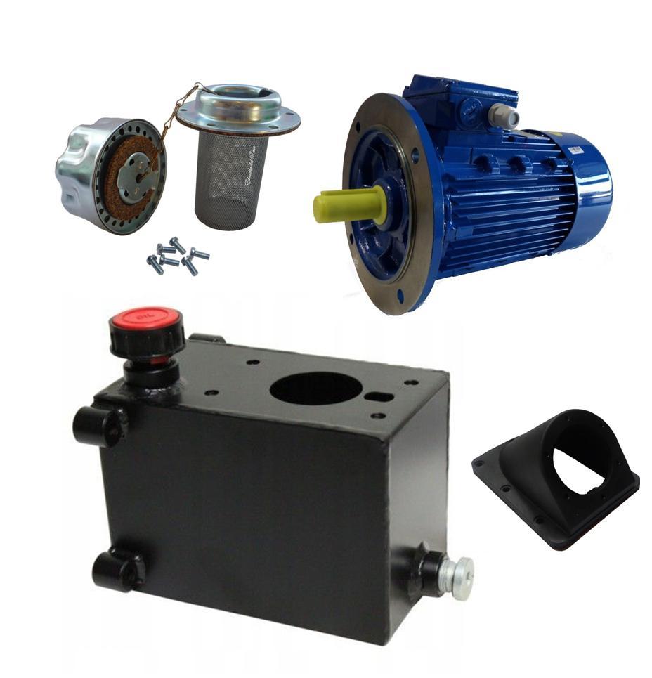 компоненты для гидростанции