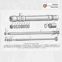 Пушка ЗИС-5 (детали тормоза отката)