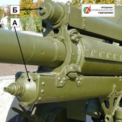Пушка ЗИС-5 (противооткатные устройства)